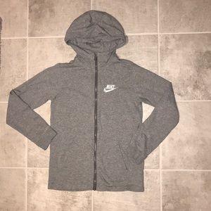 Nike youth jersey hoodie